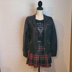 Forever 21 pleated plaid skirt